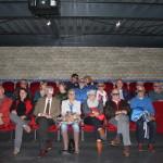 In het informatiecentrum werd in de filmzaal met een 3D-film de historie van het Wouda gemaal belicht,